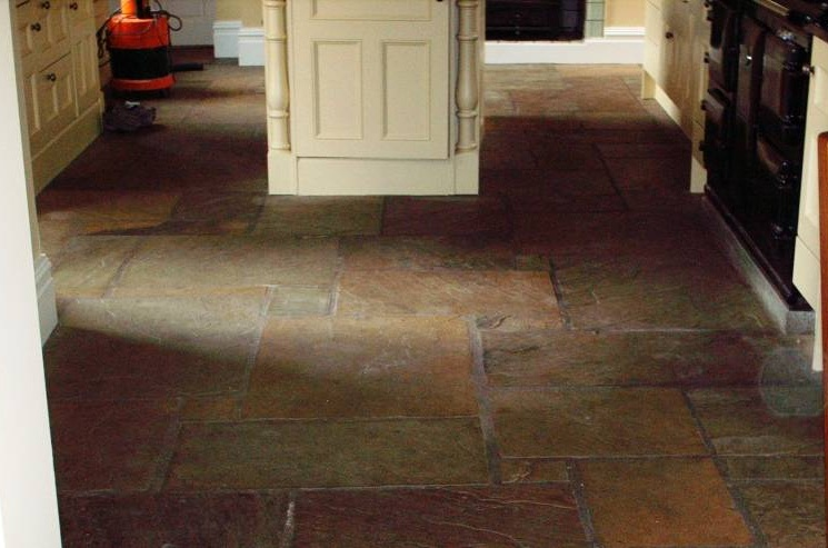 Stone Cleaning And Polishing Tips For Sandstone Floors. Kitchen ...