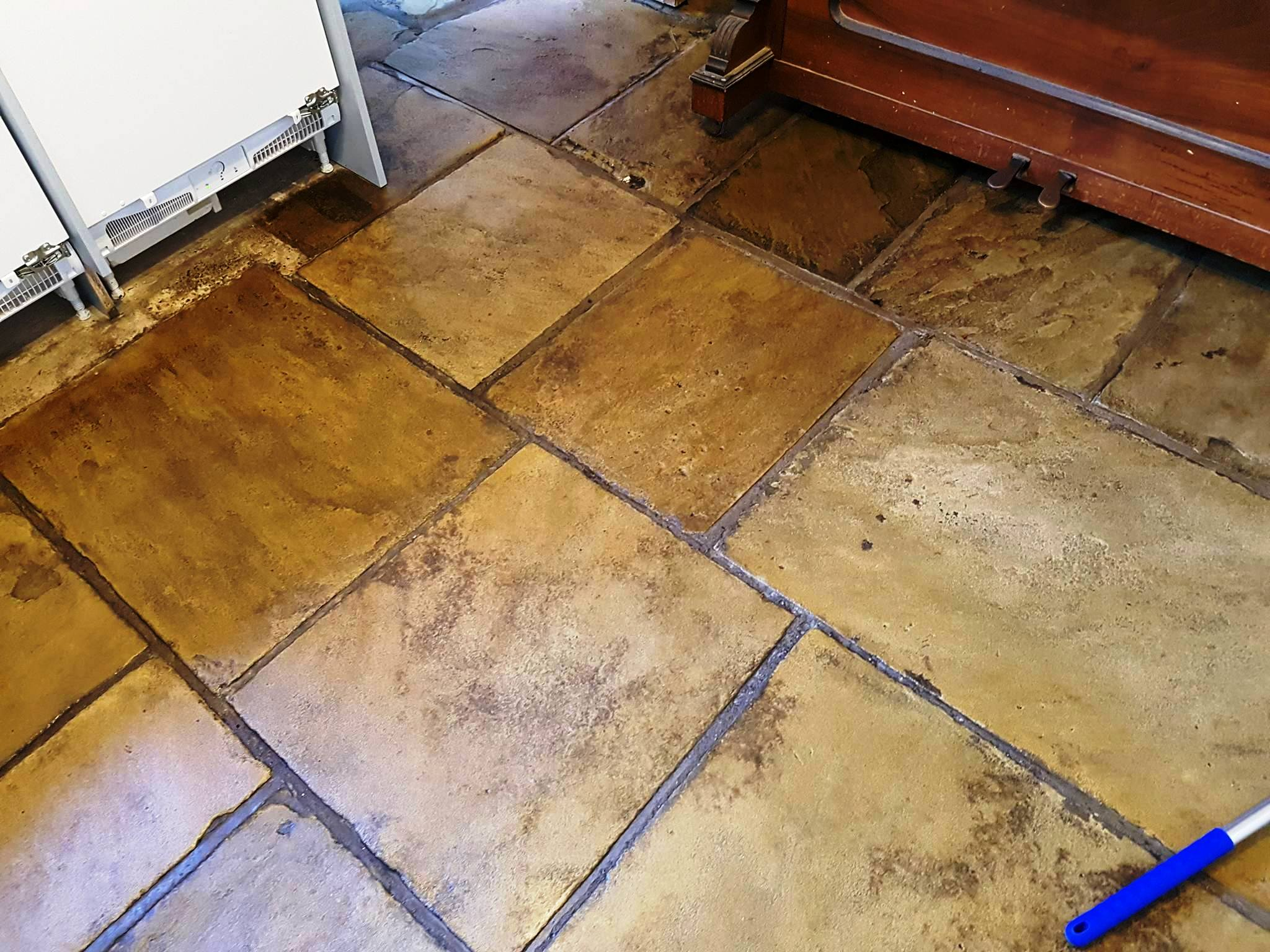 Refurbishing Yorkstone Kitchen Tiles in Greater Manchester   Stone ...