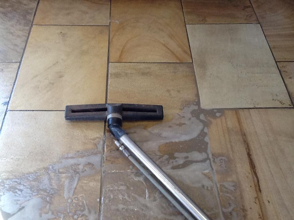 Sandstone Floor Maintenance
