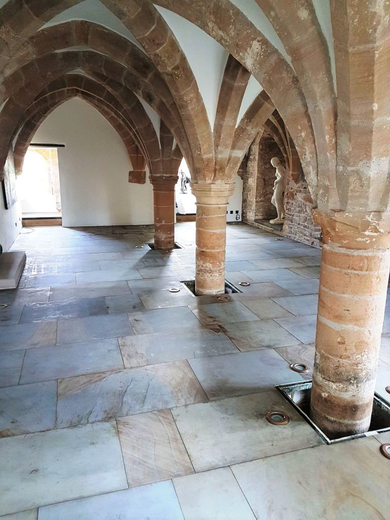 Sandstone Floor Restoration