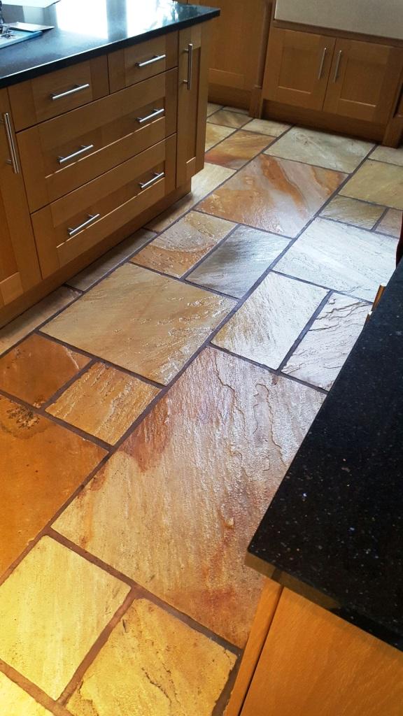 Sandstone Kitchen Floors