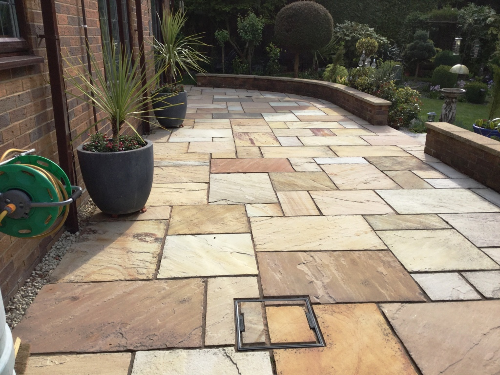 Sandstone Patio Renovation
