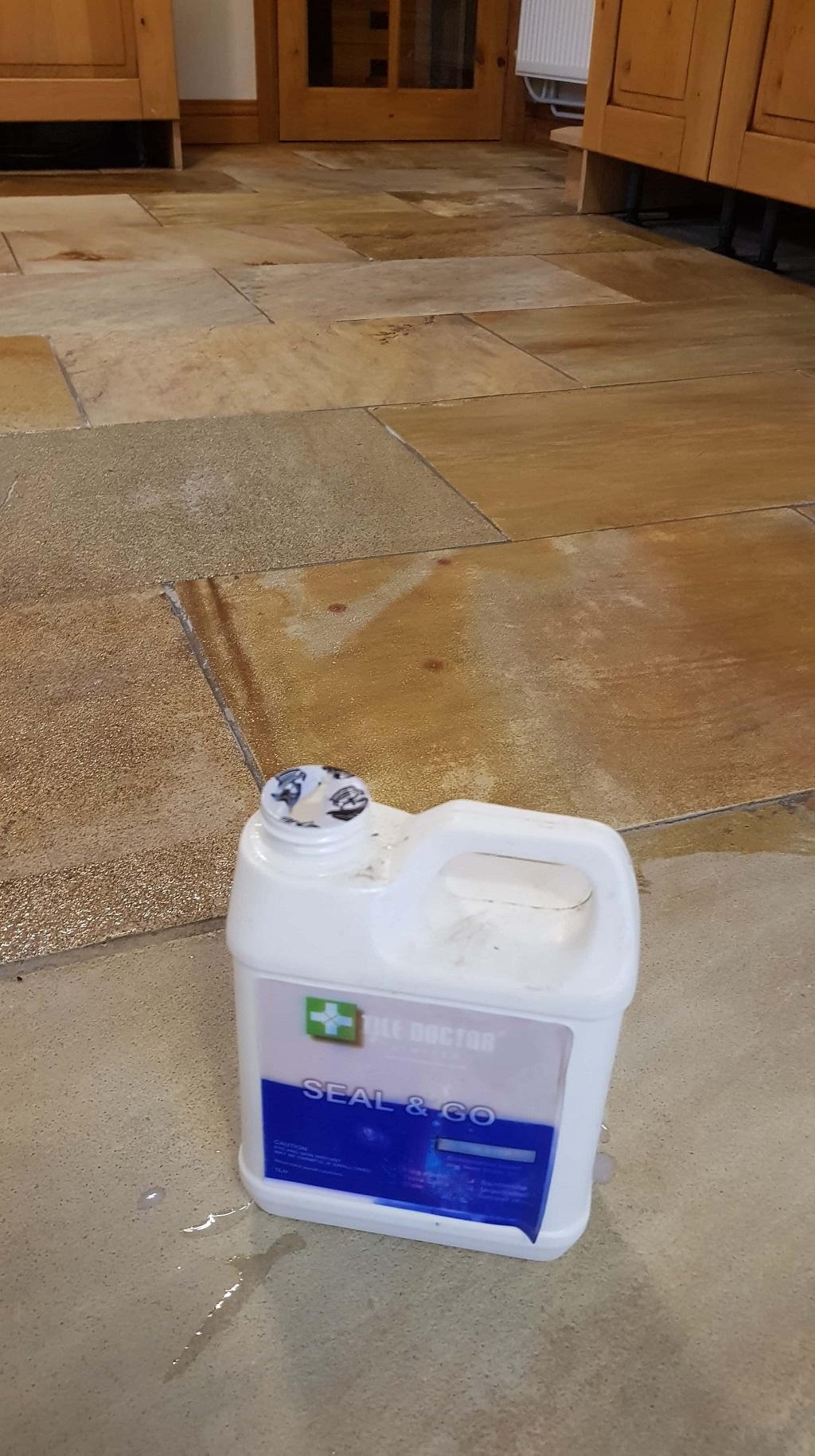 Sealing Sandstone Floors