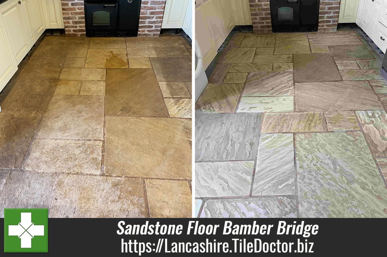 Indian Sandstone Floor Tile Renovation Bamber Bridge